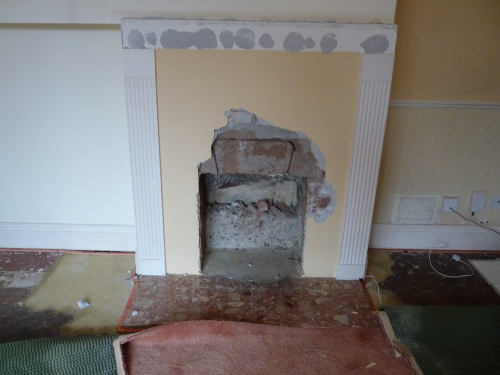Gas fire gone